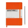 <b>Lt342937</b>,Leuchtturm notitieboek medium 145x210 dots / bullets oranje