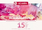 <b>9316002m</b>,Talens art creation acrylverfpapier a 4 290 gr 15 vel