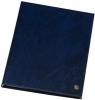 ,<b>Showmap Rillstab A5 3 kanaals 30-tassen blauw</b>