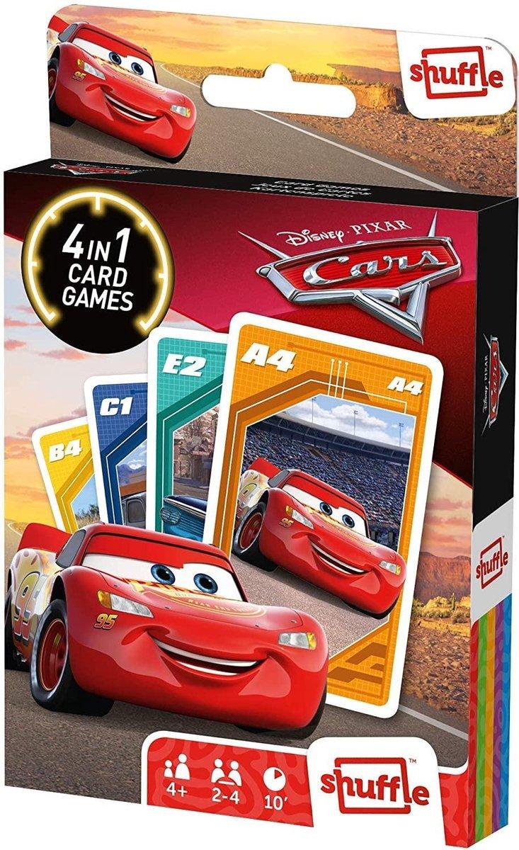 ,Shuffle- cars- 4 in 1 kaartspel
