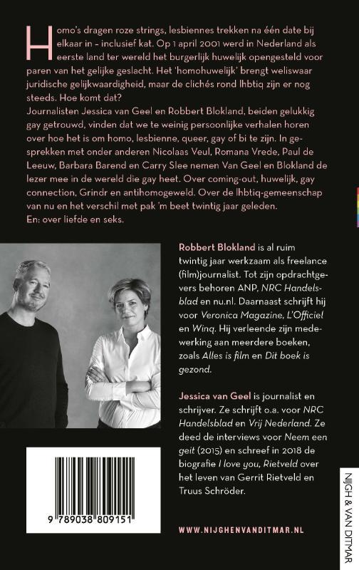Jessica van Geel, Robbert Blokland,Als je maar gelukkig bent