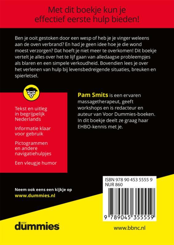 Pam Smits,De kleine EHBO voor Dummies