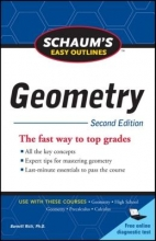 Rich, Barnett Schaum`s Easy Outline of Geometry, Second Edition