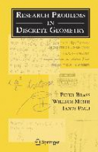 Peter Brass,   William O. J. Moser,   Janos Pach Research Problems in Discrete Geometry