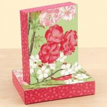 Japanese Cherry Blossoms Keepsake Box