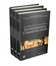 Berger, Charles R. The International Encyclopedia of Interpersonal Communication