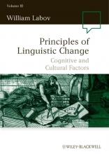 William Labov Principles of Linguistic Change, Volume 3
