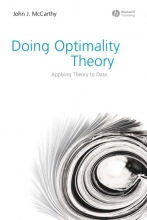 John J. McCarthy Doing Optimality Theory