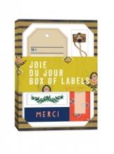 Joie Du Jour Box of Labels