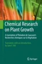Theodore De Saussure Chemical Research on Plant Growth