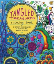 Monk, Jane Tangled Treasures Coloring Book