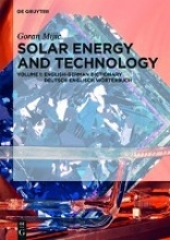 Mijic, Goran Solar Energy and Technology. English-German Dictionary Deutsch-Englisch Wörterbuch