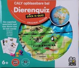 Stick N Quiz 42 opblaasbare bol dieren & quiz