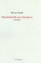 Tontic, Stevan Handschrift aus Sarajevo