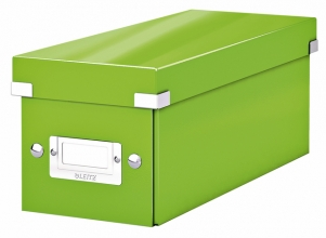 , CD-box Leitz WOW Click&Store 143 x 136 x 352 mm groen