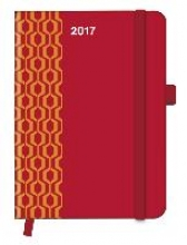 Cool Diary PATTERN Red 2017 16x22