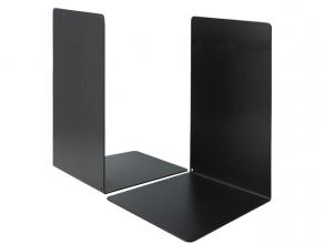 , Boekensteun Westcott zwart metaal 2 stuks 130x240x140mm