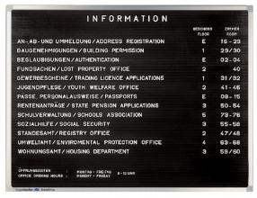 , Letterbord Legamaster Premium 30x40cm rubberprofiel