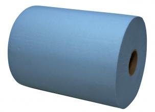 , Handdoekrol Euro Mini 2L 18cmx165m blauw 6rol