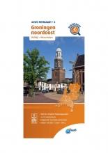 ANWB , Fietskaart Groningen noordoost 1:66.666