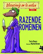 Terry  Deary Waanzinnig om te weten Junior - Razende Romeinen, paperback 7+