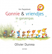 Olivier Dunrea , Gonnie en vriendjes in ganzenpas