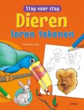 Christopher  Hart Dieren leren tekenen