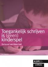 Jos Huypens , Toegankelijk schrijven is (geen) kinderspel