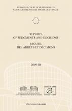 , Reports of judgments and decisions recueil des arrets et decisions 2009-III