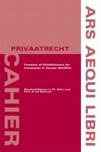 Iris Wuisman , Freedom of Establishment for Companies in Europe (EU/EEA)