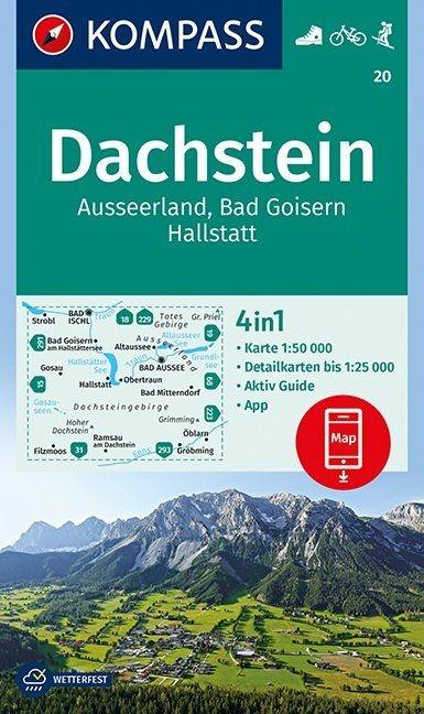 ,Dachstein, Ausseerland, Bad Goisern, Hallstatt 1:50 000