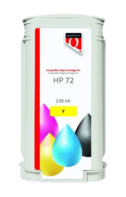 ,Inkcartridge Quantore HP 72 C9373A geel