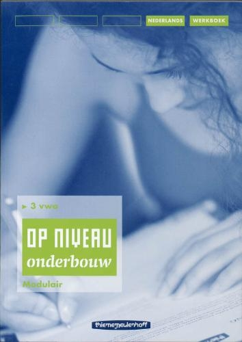 R. Kraaijeveld,Op niveau 3 vwo Werkboek