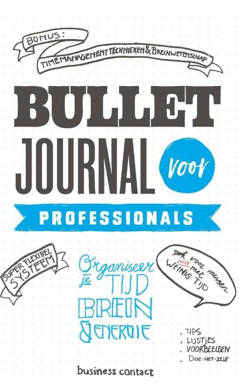 ,Bullet Journal voor professionals