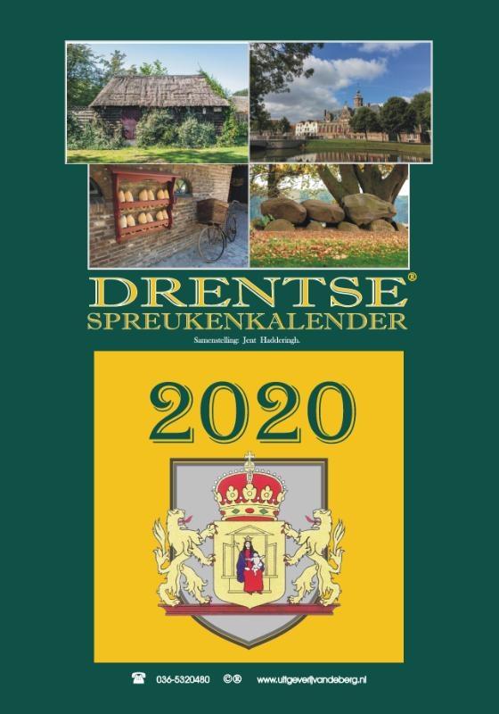 ,Drentse spreukenkalender 2020