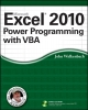 Walkenbach, John,Excel 2010 Power Programming with VBA