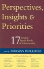 Norman Horrocks,Perspectives, Insights, & Priorities