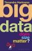 Harkness, Timandra,Big Data