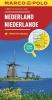 ,<b>MARCO POLO Länderkarte Niederlande 1:300 000</b>
