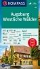 ,KOMPASS Wanderkarte 162 Augsburg, Westliche W?lder