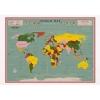 ,Kaart vintage world map