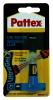 ,Secondelijm Pattex ultra gel tube 3gram op blister