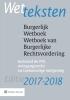 ,<b>Wetteksten Burgerlijk Wetboek/Wetboek van Burgerlijke Rechtsvordering 2017-2018</b>