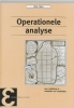 <b>Henk Tijms</b>,Operationele analyse