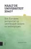Bert van der Zwaan ,Haalt de universiteit 2040?, Korte beschouwingen over de universiteit van de toekomst
