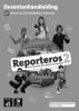 ,Reporteros 2 Libro del profesor