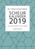 <b>Cynthia  Schultz</b>,De Structuurjunkie scheurkalender 2019
