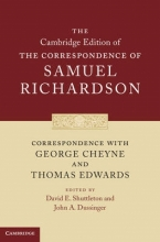 Richardson, Samuel Correspondence with George Cheyne and Thomas Edwards