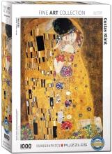 Eur-6000-4365 , Puzzel eurographics the kiss - gustav klimt 1000 stukjes 48x68cm
