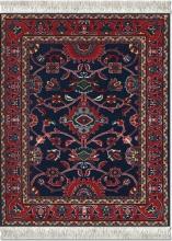 , Muismat tapijt the deep-blue bergamo